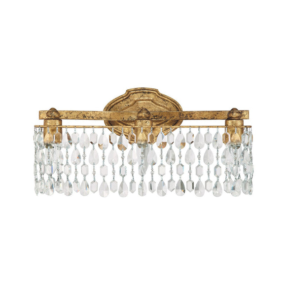 Capital Lighting Blakely Three Light Vanity 8528AG-CR Coastal Lighting