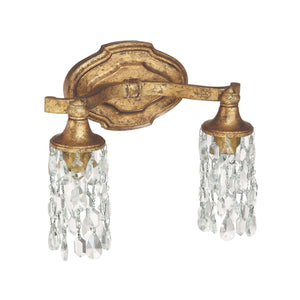 Capital Lighting Blakely Two Light Vanity 8522AG-CR Coastal Lighting