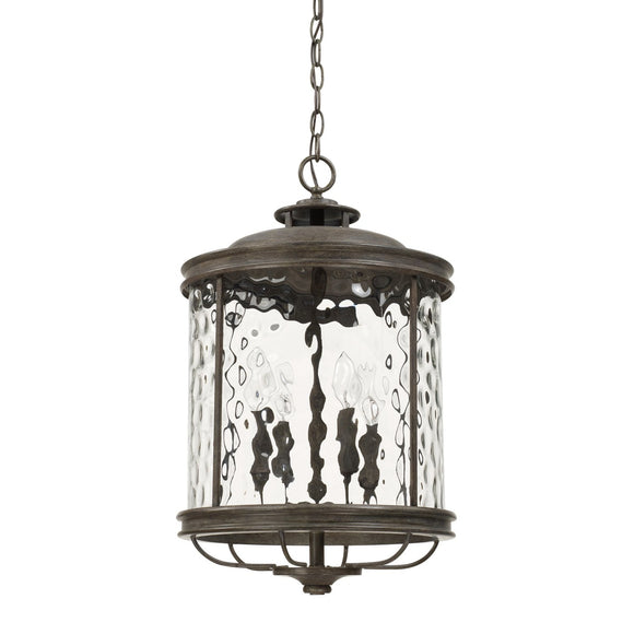Capital Lighting Bristol Four Light Pendant 325041FH Coastal Lighting