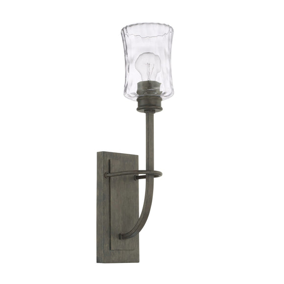 Capital Lighting Bristol One Light Wall Sconce 625011FH-444 Coastal Lighting
