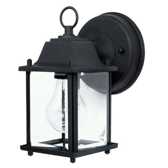Capital Lighting Cast Outdoor Lantern 9850BK Coastal Lighting