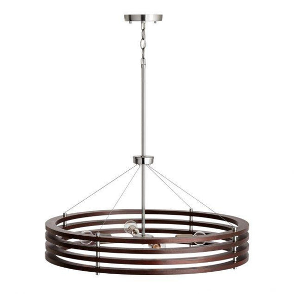 Capital Lighting Dalton 4 Light Chandelier 439941DN Coastal Lighting