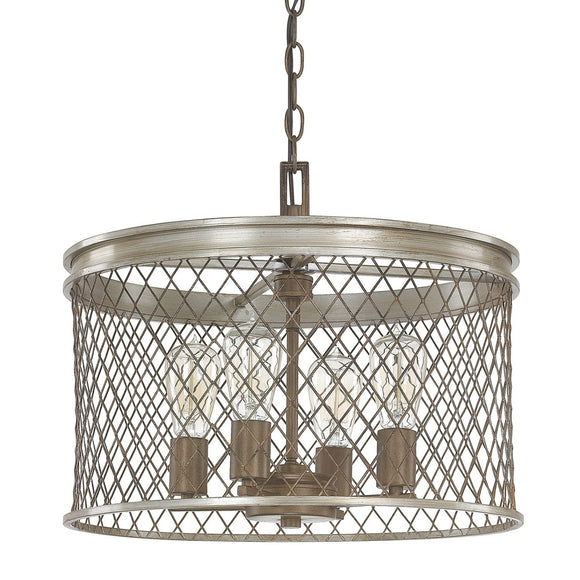 Capital Lighting Eastman Four Light Chandelier 4884SZ Coastal Lighting