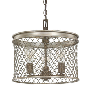 Capital Lighting Eastman Three Light Chandelier 4883SZ Coastal Lighting
