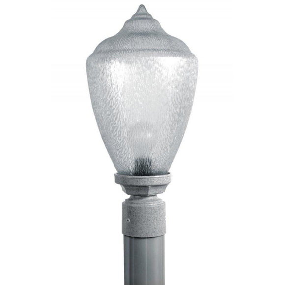Wave Everstone Non-Corrosive Flame Tip Post Top - Companion Size S27TC-GY Graystone Coastal Lighting