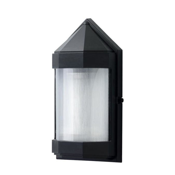 Wave Everstone Non-Corrosive Wall Pack Lantern S32W-C-BK Blackstone Coastal Lighting
