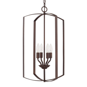 Capital Lighting Four Light Foyer 515841BZ Coastal Lighting
