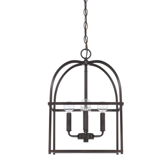 Capital Lighting Four Light Foyer Chandelier 527542MB Coastal Lighting