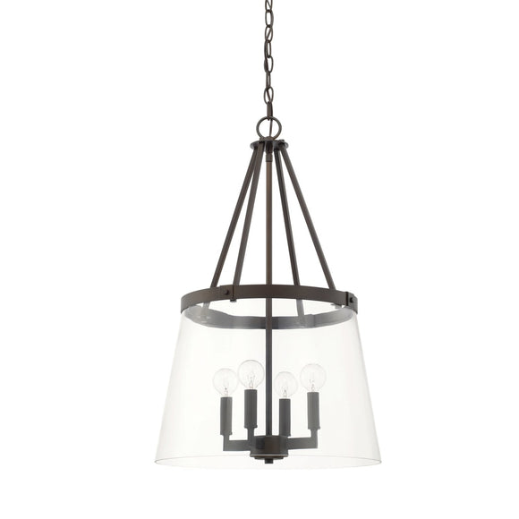 Capital Lighting Four Light Foyer Chandelier 525641BB-442 Coastal Lighting