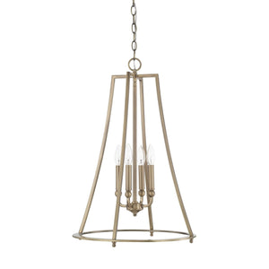 Capital Lighting Four Light Foyer Pendant 519342AD Coastal Lighting