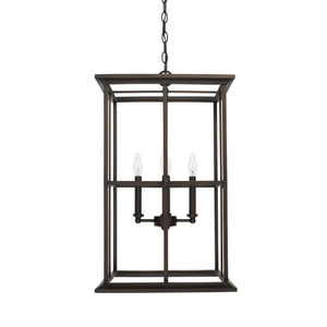 Capital Lighting Four Light Foyer Pendant 520142OB Coastal Lighting