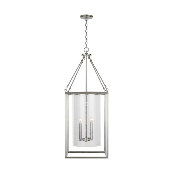 Capital Lighting Four Light Foyer Pendant 532841BN Coastal Lighting