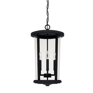 Capital Lighting Four Light Outdoor Hanging Lantern 926742BK Coastal Lighting