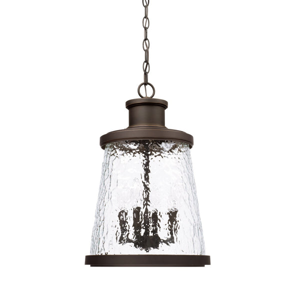 Capital Lighting Four Light Outdoor Hanging Lantern 926542OZ Coastal Lighting