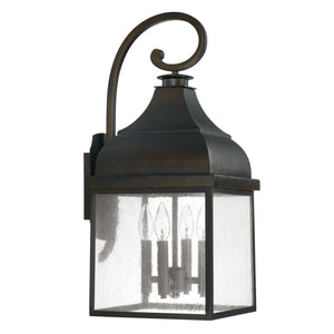 Capital Lighting Four Light Outdoor Wall Lantern 9643OB Coastal Lighting