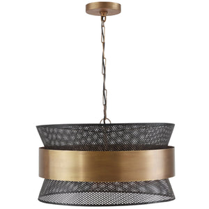 Capital Lighting Four Light Pendant 330447PK Coastal Lighting