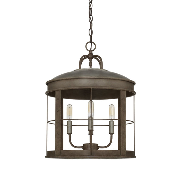 Capital Lighting Four Light Pendant 329741UG Coastal Lighting