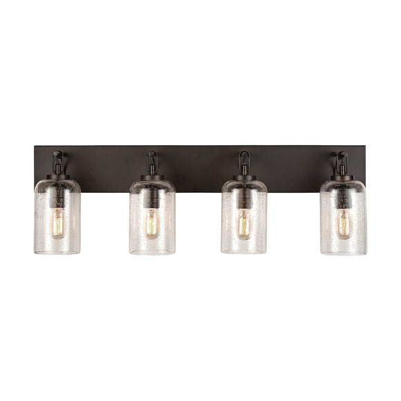 Capital Lighting Four Light Vanity 131341OB-464 Coastal Lighting