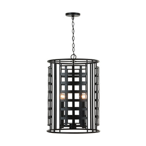 Capital Lighting Garrison Four Light Foyer Pendant 532241MB Coastal Lighting