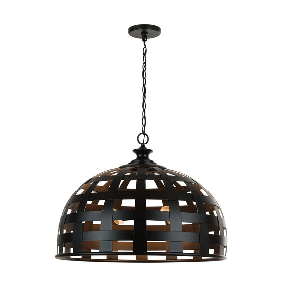 Capital Lighting Garrison Four Light Pendant 332241MB Coastal Lighting