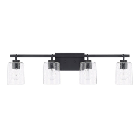 Capital Lighting Greyson Four Light Vanity Fixture 128541MB-449 Coastal Lighting