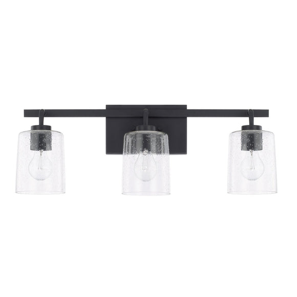 Capital Lighting Greyson Three Light Vanity Fixture 128531MB-449 Coastal Lighting