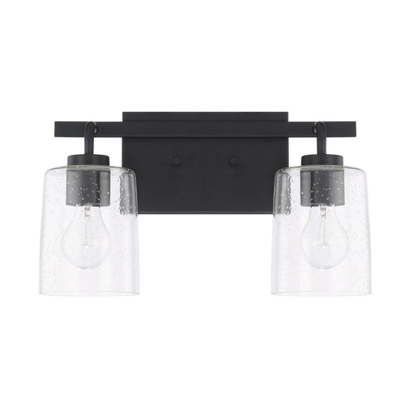 Capital Lighting Greyson Two Light Vanity Fixture 128521MB-449 Coastal Lighting
