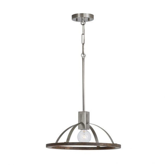 Capital Lighting Hugo 1 Light Pendant 340111GN Coastal Lighting