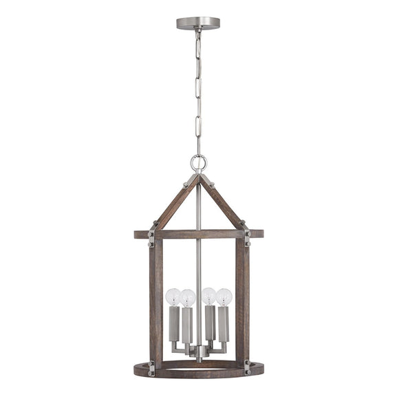 Capital Lighting 4 Light Foyer 540141GN Coastal Lighting