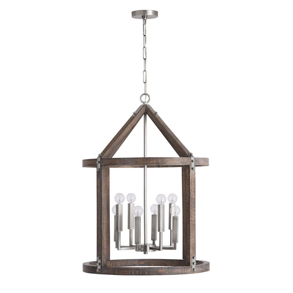 Capital Lighting 8 Light Foyer 540181GN Coastal Lighting