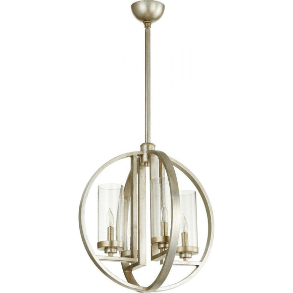 Quorum Julian 4 Light Chandelier 603-4-60 Coastal Lighting