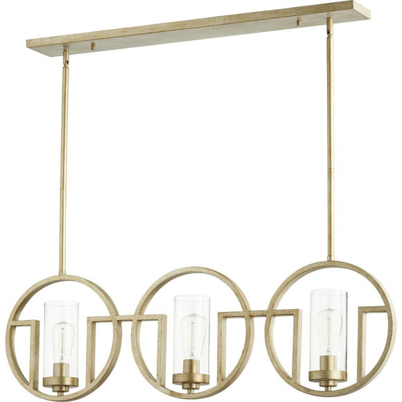 Quorum Julian Linear Chandelier 643-3-60 Coastal Lighting