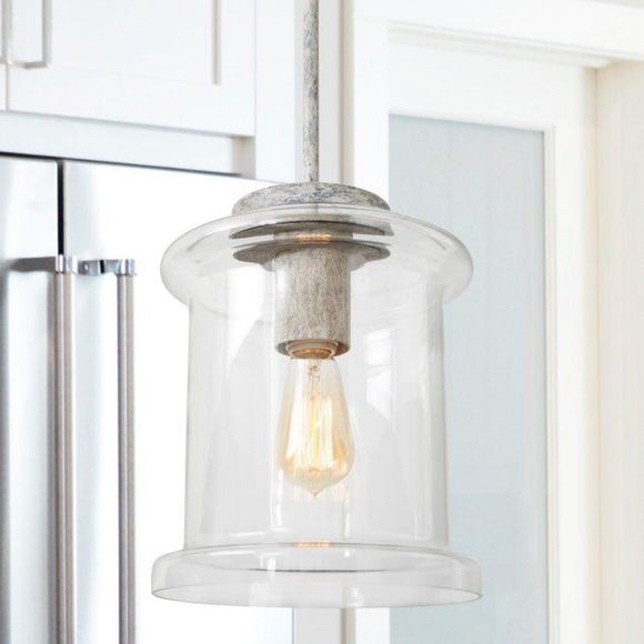 Capital Lighting Kayla One Light Pendant 329511MS Coastal Lighting