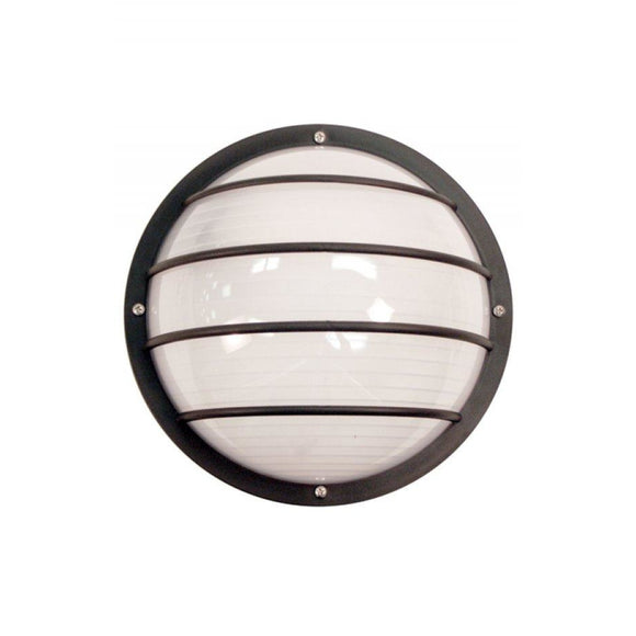 Wave Marlex Non-Corrosive Nautical Ceiling Mount S761WF-BK Black Coastal Lighting