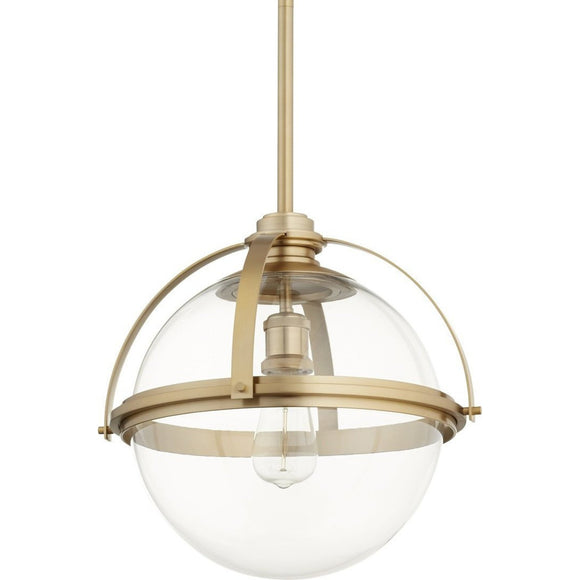 Quorum Meridian Globe Pendant 88-13-80 Coastal Lighting