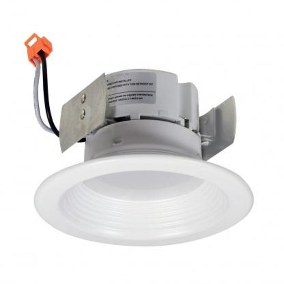 Nora NOX-43230WW 4 inch LED 3K Dimmable Recessed Trim Baffled EA Coastal Lighting