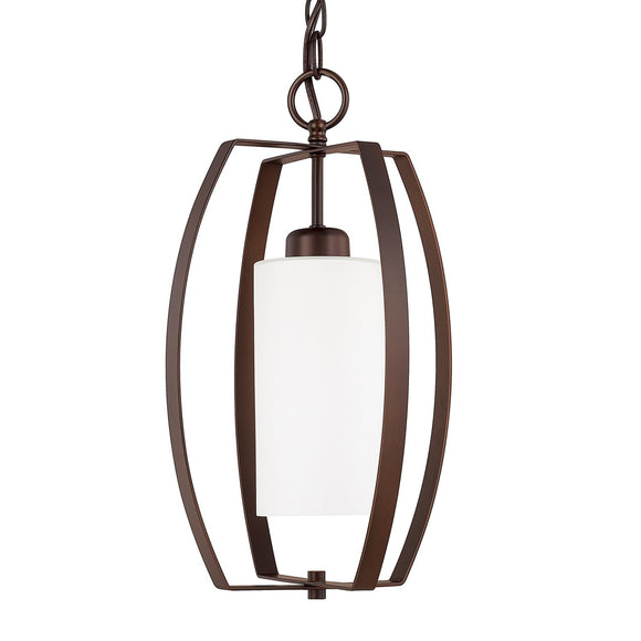 Capital Lighting One Light Foyer 515911BZ-342 Coastal Lighting