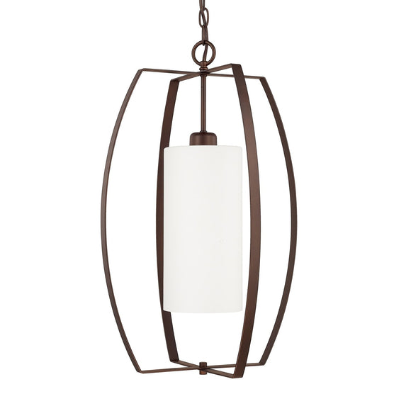 Capital Lighting One Light Foyer 515912BZ-343 Coastal Lighting