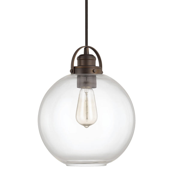 Capital Lighting One Light Mini-Pendant 4641BB-136 Coastal Lighting