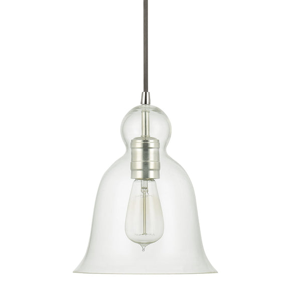 Capital Lighting One Light Mini-Pendant 4642PN-137 Coastal Lighting