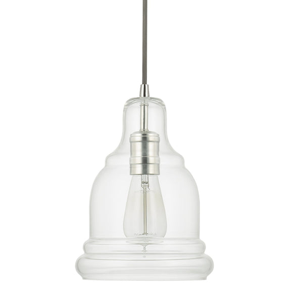Capital Lighting One Light Mini-Pendant 4643PN-138 Coastal Lighting
