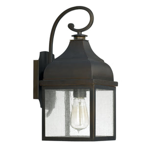 Capital Lighting One Light Outdoor Wall Lantern 9641OB Coastal Lighting