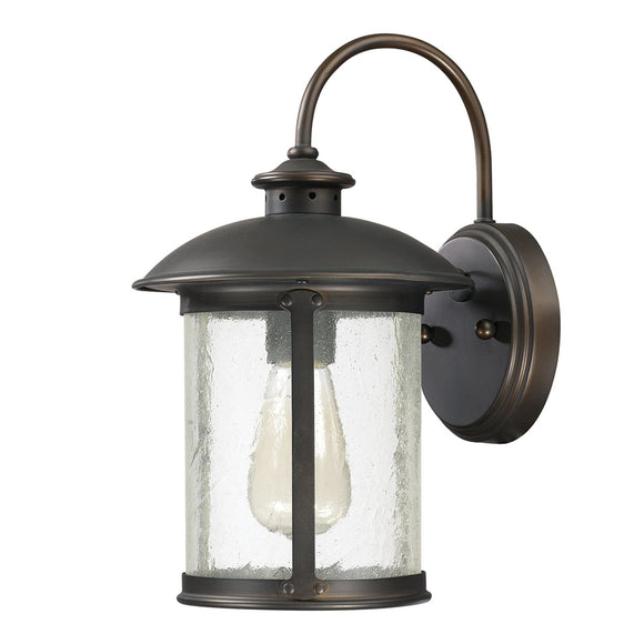 Capital Lighting One Light Outdoor Wall Lantern 9561OB Coastal Lighting