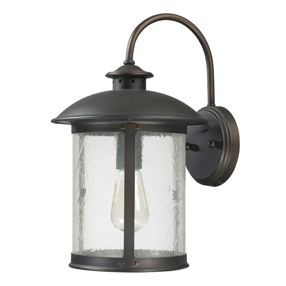 Capital Lighting One Light Outdoor Wall Lantern 9562OB Coastal Lighting