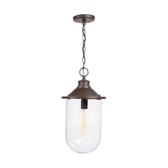 Capital Lighting One Light Pendant 330811MI Coastal Lighting