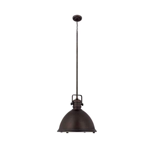 Capital Lighting One Light Pendant 4433BB Coastal Lighting