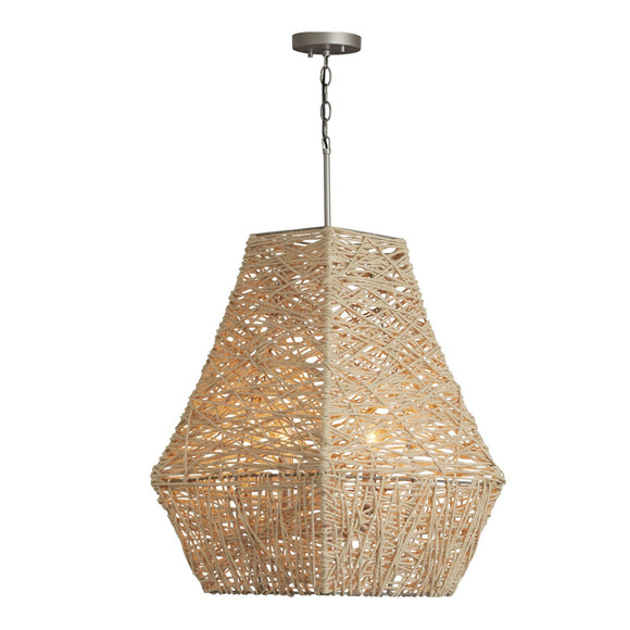 Capital Lighting One Light Pendant 335241NY Coastal Lighting