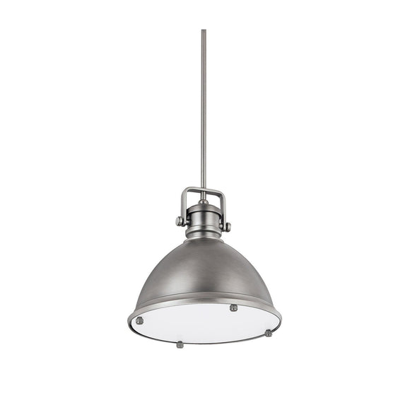 Capital Lighting One Light Pendant 4432AN Coastal Lighting
