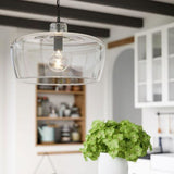 Capital Lighting One Light Pendant 329611NG Coastal Lighting