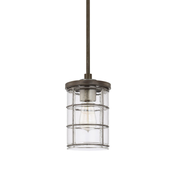 Capital Lighting One Light Pendant 329411UG-439 Coastal Lighting